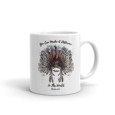 Make A Difference In This World - Coffee Mug-11oz-Made In Agapé