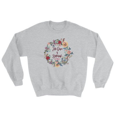 His Grace Is Sufficient - Women's Sweatshirt-Sport Grey-S-Made In Agapé
