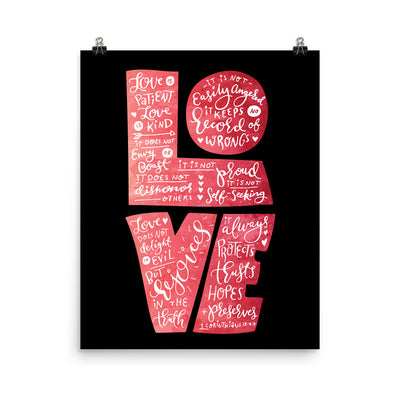 Love Is Patient - Poster-16×20-Made In Agapé
