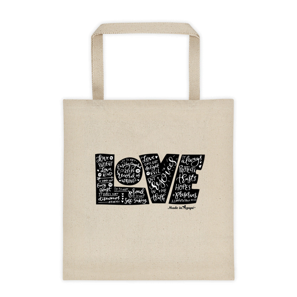 LOVE Protects - Tote Bag-Made In Agapé