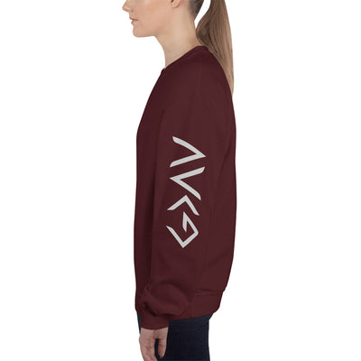 God Greater Than Highs Lows - Women's Sweatshirt-Maroon-S-Made In Agapé