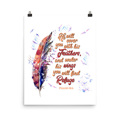 Agapé Feathers And Wings - Poster-16×20-Made In Agapé