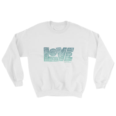 LOVE Protects - Women's Sweatshirt-White-S-Made In Agapé
