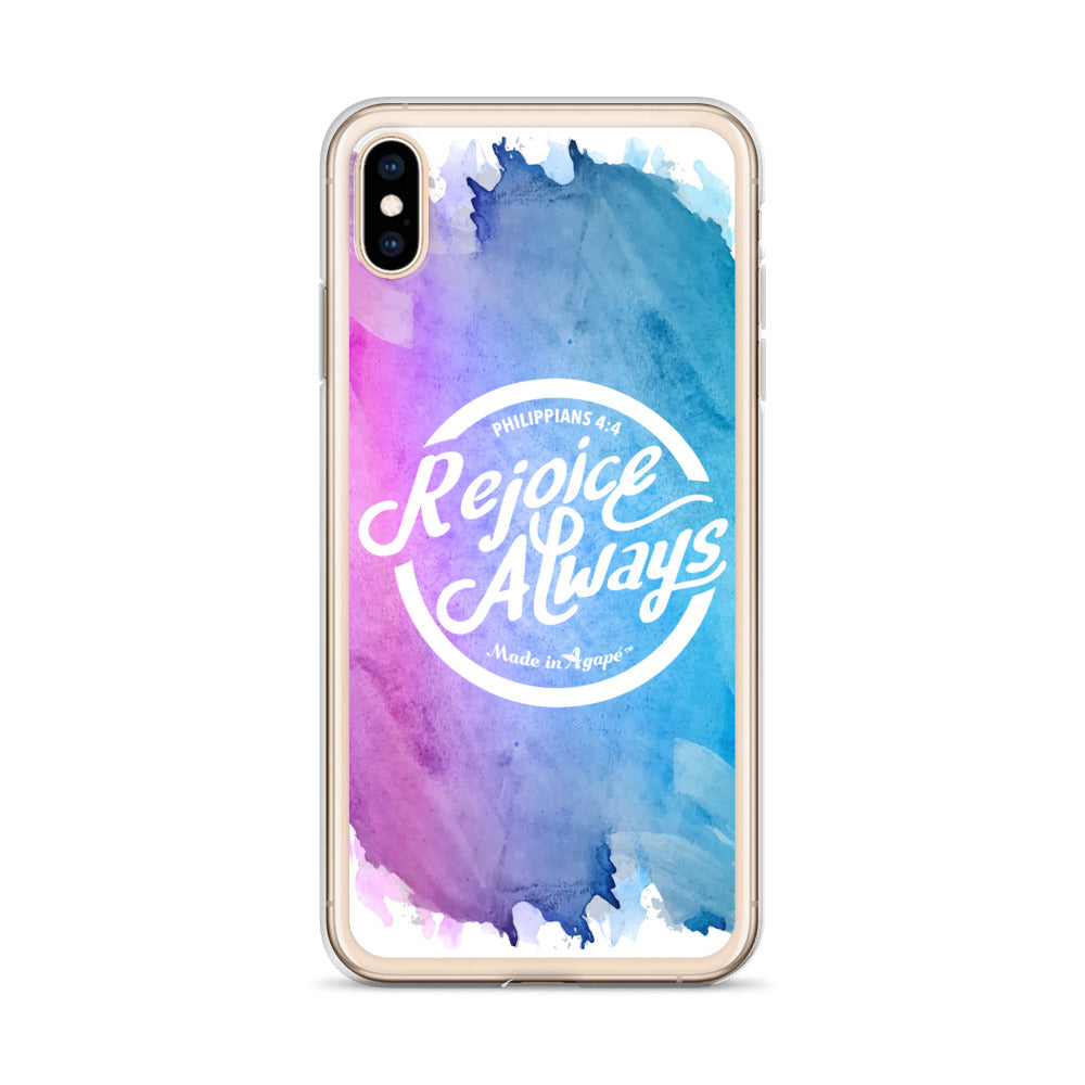 Rejoice Always - iPhone Case-Made In Agapé