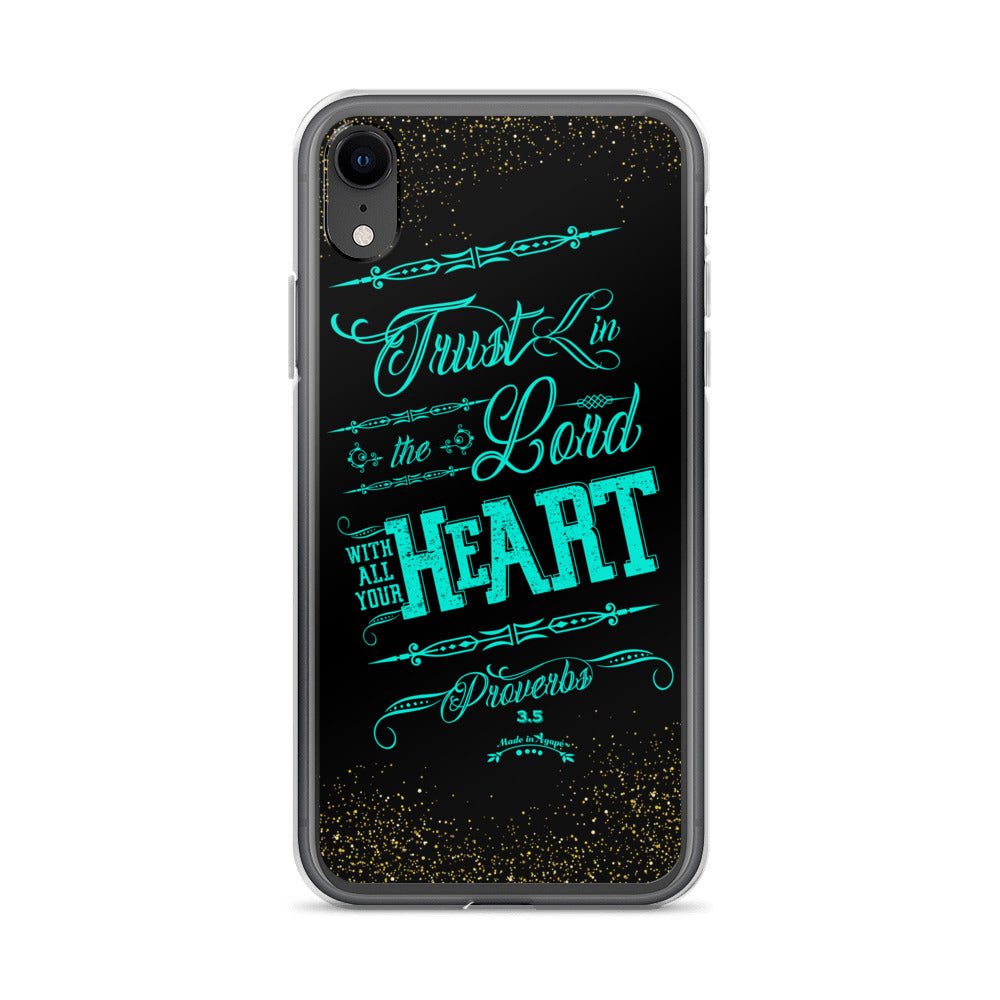 Trust In the Lord - iPhone Case-iPhone XR-Made In Agapé
