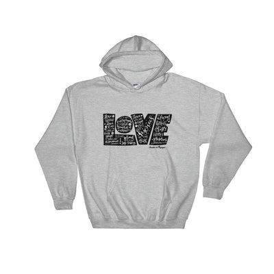 LOVE Protects - Women's Hoodie-Sport Grey-S-Made In Agapé