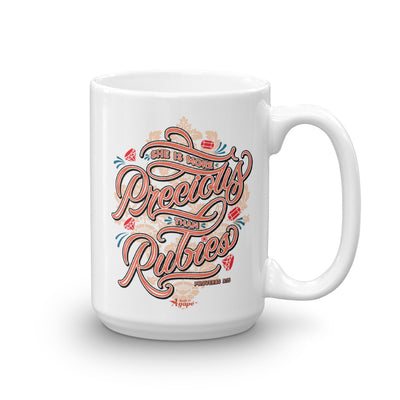 More Precious Than Rubies - Coffee Mug-15oz-Made In Agapé