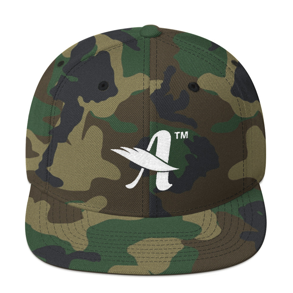 Agape™ Attitude - Snapback Hat-Green Camo-Made In Agapé
