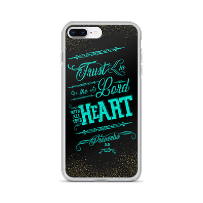 Trust In the Lord - iPhone Case-iPhone 7 Plus/8 Plus-Made In Agapé