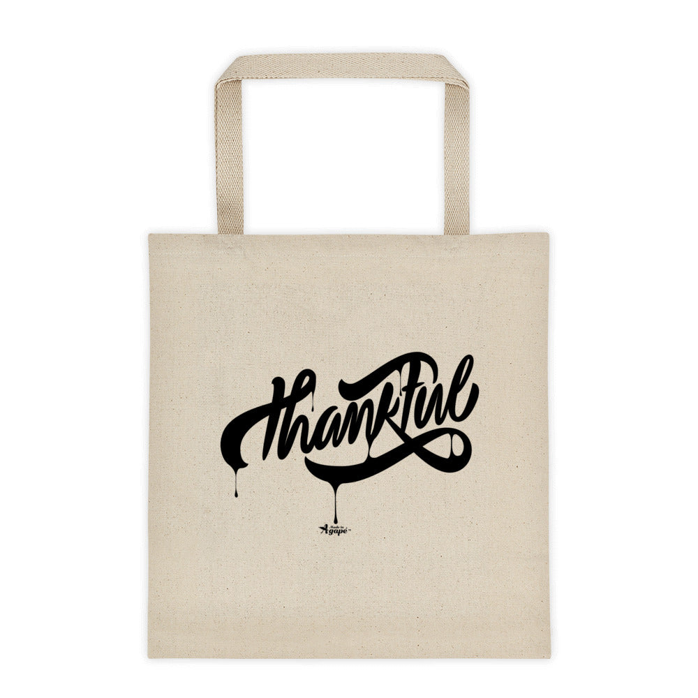Thankful - Tote Bag-Made In Agapé
