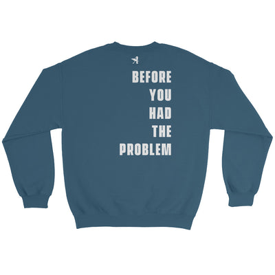 Solution Before Problem - Women's Sweatshirt-Made In Agapé