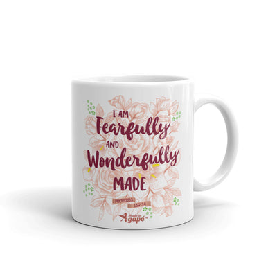 Fearfully And Wonderfully Made - Coffee Mug-11oz-Made In Agapé