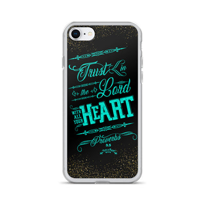 Trust In the Lord - iPhone Case-iPhone 7/8-Made In Agapé