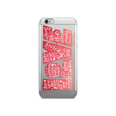 LOVE Protects - iPhone Case-iPhone 6/6s-Made In Agapé