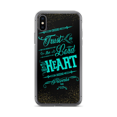 Trust In the Lord - iPhone Case-iPhone X/XS-Made In Agapé