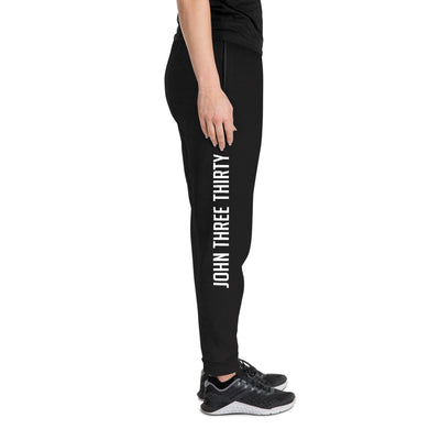 More Him Less Me - Unisex Fleece Joggers-Made In Agapé