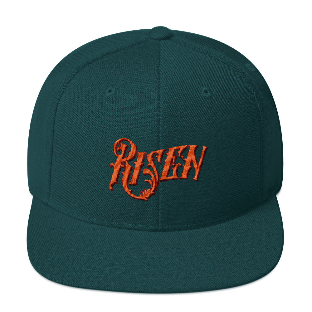 Risen - Snapback Hat-Spruce-Made In Agapé