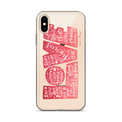 LOVE Protects - iPhone Case-Made In Agapé