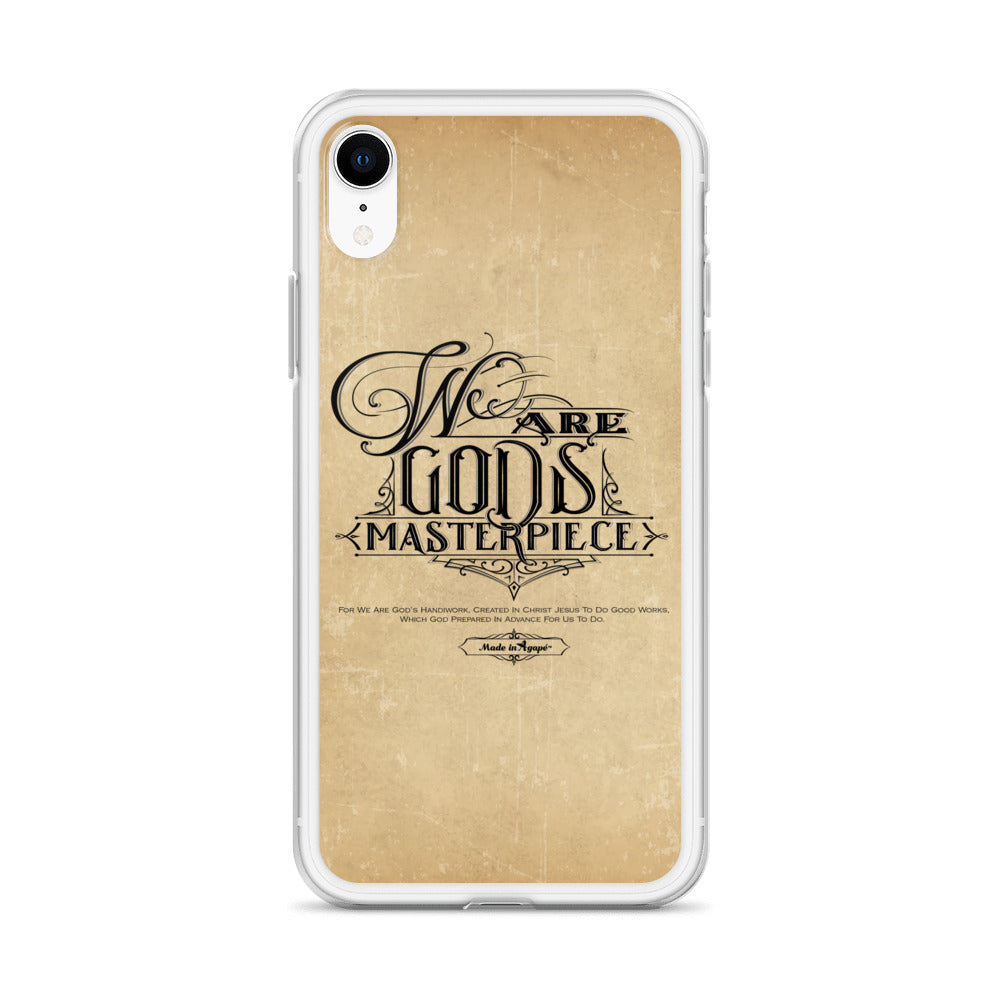 We Are God's Masterpiece - iPhone Case-Made In Agapé