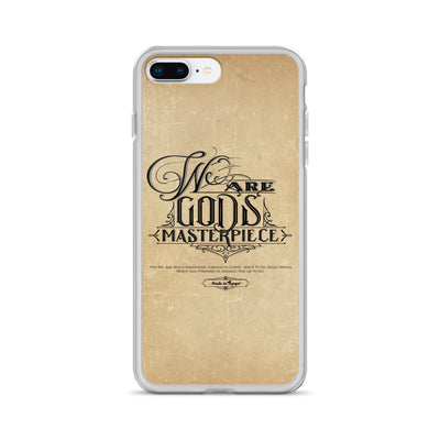 We Are God's Masterpiece - iPhone Case-iPhone 7 Plus/8 Plus-Made In Agapé
