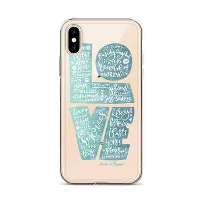 LOVE Is Patient - iPhone Case-Made In Agapé