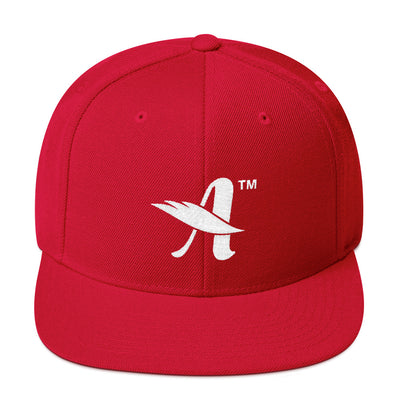 Agape™ Attitude - Snapback Hat-Red-Made In Agapé