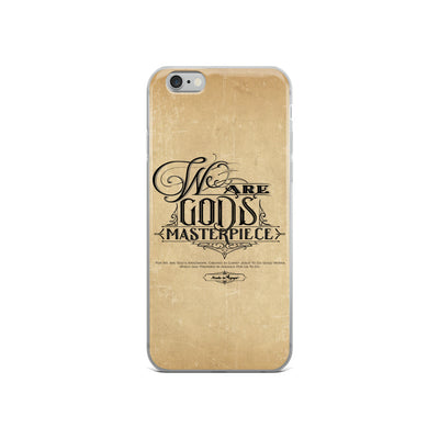We Are God's Masterpiece - iPhone Case-iPhone 6/6s-Made In Agapé
