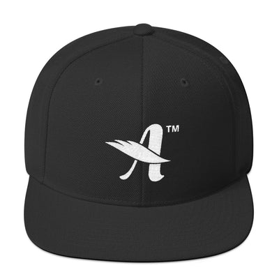 Agape™ Attitude - Snapback Hat-Black-Made In Agapé