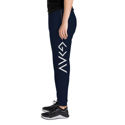 God Is Greater Than Highs And Lows - Unisex Fleece Jogger Sweatpant-J. Navy-S-Made In Agapé