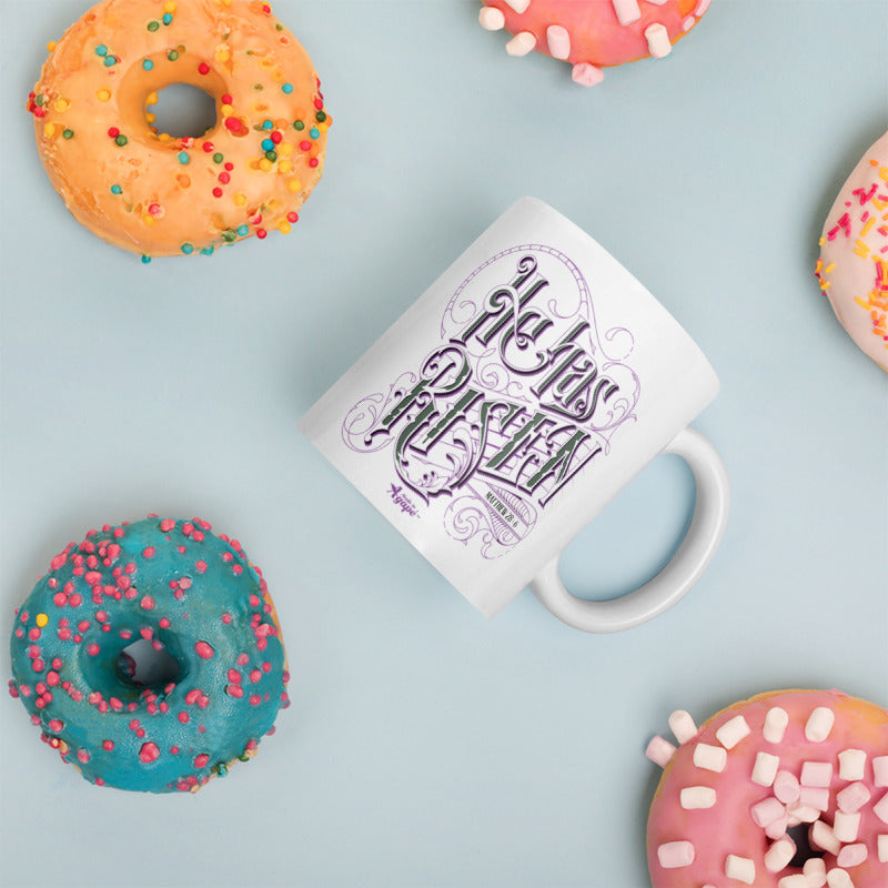 He Has Risen - Coffee Mug-Mockup-Made In Agapé