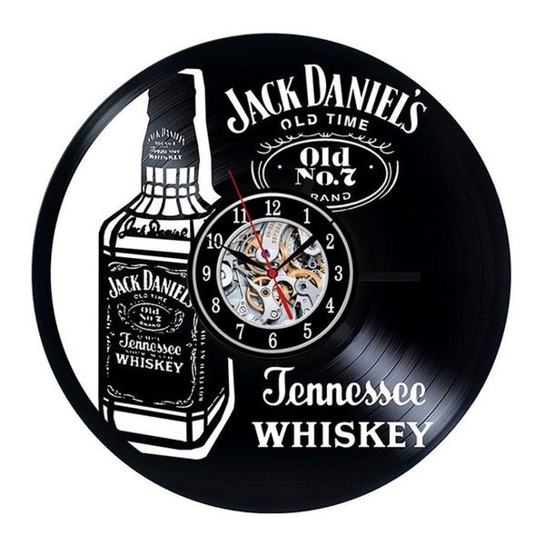Wall clock | Drink | Jack Daniels | Guinness | Beer | 3D