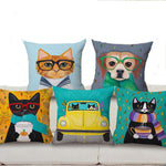 Cushion covers | Cat | cute pets