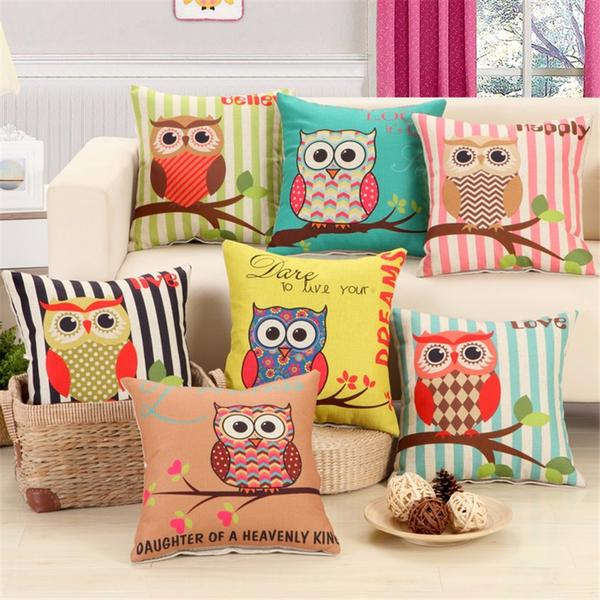 Cushion covers | Cute | Owl