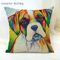 Cushion covers | Dogs | colorful