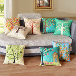 Cushion covers | tree | floral