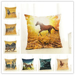 Cushion covers | Horse | Natural