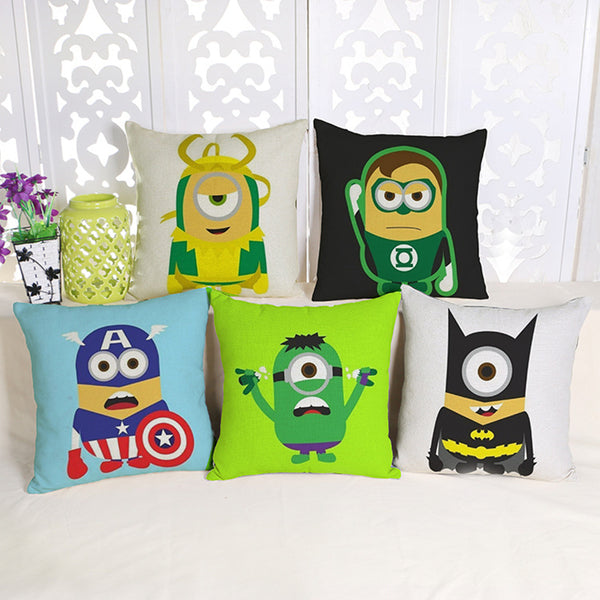 Cushion cover | Minions | Super hero