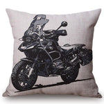 Cushion covers | Motorbike | 3D vintage
