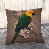 Cushion cover | birds \ colours