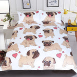 Bedding | Pug | Cute