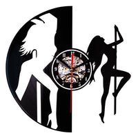 wall clock | Pole dancer | Vinyl