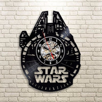 Wall clock | Star Wars | Vinyl