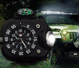 Rechargeable Waterproof Outdoor Wristlight Watch