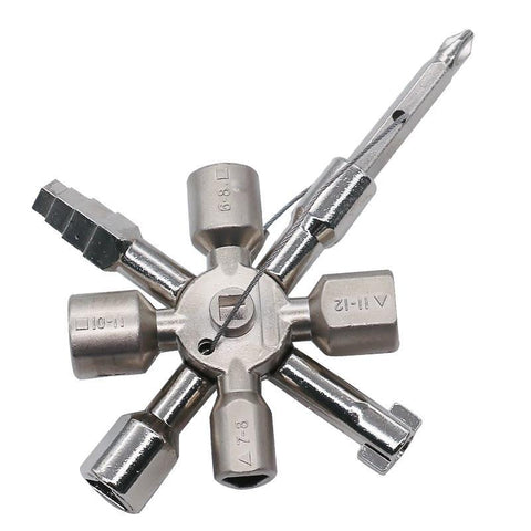10 in 1 Multi-function Cross Wrench