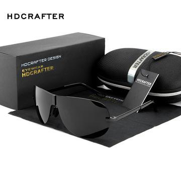 DESIGNER POLARIZED MALE SUNGLASSES