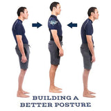 POSTURE-CORRECTIVE THERAPY BACK BRACE