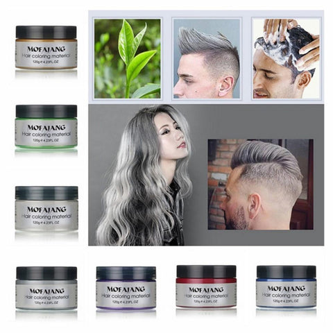 Moving Rubber Japanese Coloured Hair Wax