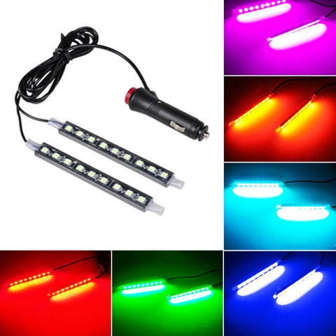 1 To 2 Universal Car LED Decoration Lamp