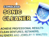 CORDLESS DENTURE CLEANER PREMIUM