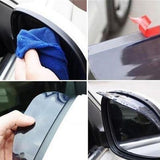 Rainproof Eyebrow Car Rearview Mirror